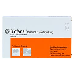Biofanal 100000I.E. 1 Packung N1 - Vorderseite