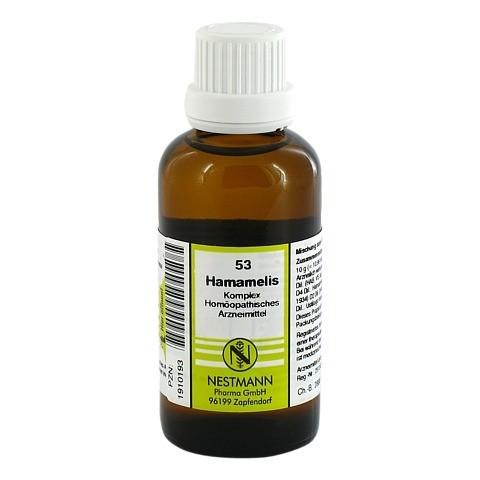 HAMAMELIS KOMPLEX Nestmann Nr.53 Dilution 50 Milliliter N1