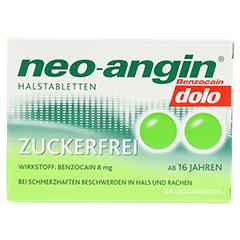 Neo-Angin Benzocain dolo zuckerfrei 24 Stück N1 - Vorderseite