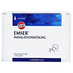 EMSER Inhalationslösung 20 Stück - Vorderseite