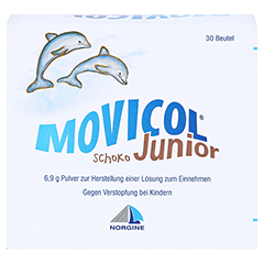 Movicol Junior Schoko 30x6.9 Gramm - Vorderseite