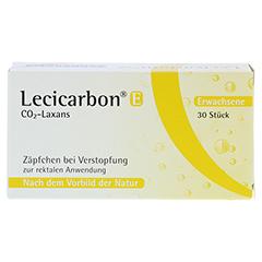 Lecicarbon E CO2-Laxans für Erwachsene 30 Stück N3 - Vorderseite
