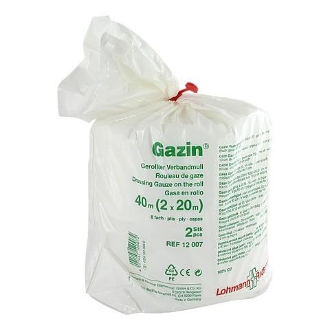 GAZIN Verbandmull 10 cmx40 m 8fach 1 Stück
