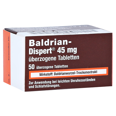Baldrian-Dispert 45mg 50 Stück