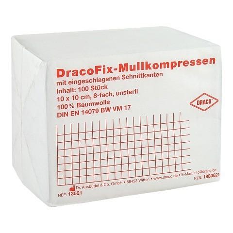 DRACOFIX OP-Kompressen 10x10 cm unsteril 8fach 100 Stück