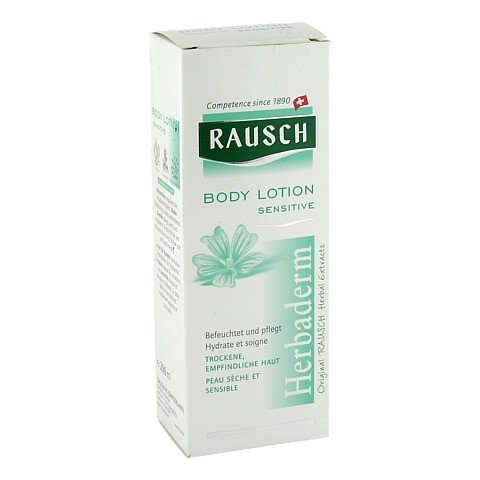 RAUSCH Body Lotion Sensitive 200 Milliliter