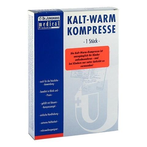 KALT-WARM Kompresse 13x14 cm mit Vlieshülle 1 Stück
