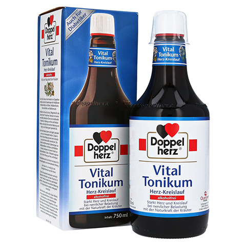 Doppelherz Vital Tonikum Herz-Kreislauf alkoholfrei 750 Milliliter