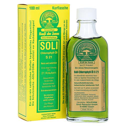 SOLI-CHLOROPHYLL-ÖL S 21 100 Milliliter