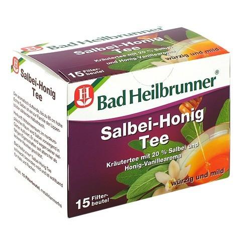 BAD HEILBRUNNER Tee Salbei Honig Filterbeutel 15 Stück
