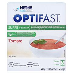 OPTIFAST home Suppe Tomate Pulver 8x55 Gramm - Vorderseite