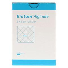 BIATAIN Alginate Kompressen 5x5 cm 10 Stück - Vorderseite