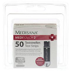 MEDISANA Meditouch 2 Teststreifen 2x25 Stück - Vorderseite