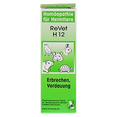 REVET H 12 Globuli f.Heimtiere 10 Gramm - Vorderseite