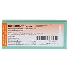 RUFEBRAN neuro Ampullen 10 Stück N1 - Vorderseite