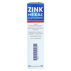 Zink HEXAL 20 Stück N1 - Rechte Seite