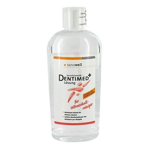 ULTRASCHALL-REINIGER Desinfektionslösung DENTIMED 500 Milliliter