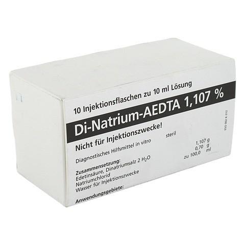 DI NATRIUM EDTA Lösung 1,107% 10x10 Milliliter