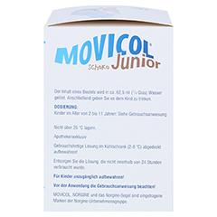 MOVICOL Junior Schoko Plv.z.Her.e.Lsg.z.Einnehmen 30x6.9 Gramm - Rechte Seite