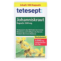 Tetesept Johanniskraut 500mg 100 Stück - Vorderseite