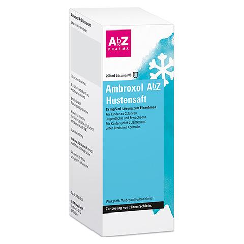Ambroxol AbZ Hustensaft 250 Milliliter N3