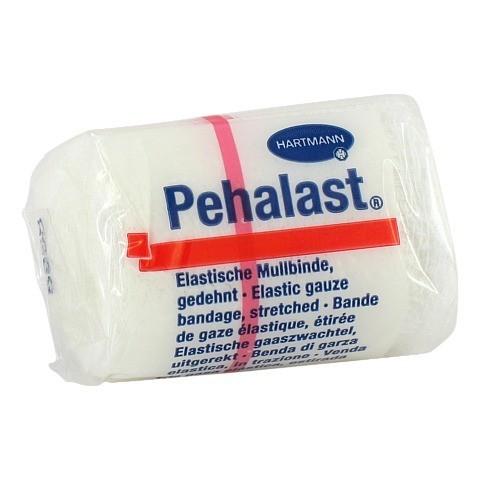 PEHA-LAST Mullbinde elastisch 4 cmx4 m 1 Stück