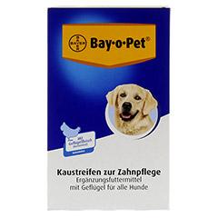 BAY O PET Geflügel Kaustreifen für Hunde 140 Gramm - Vorderseite