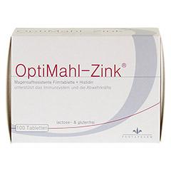 OPTIMAHL Zink 15 mg Tabletten 100 Stück - Vorderseite