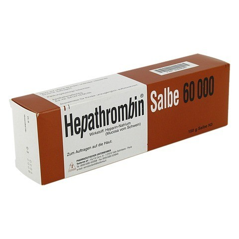 Hepathrombin 60000 150 Gramm N3