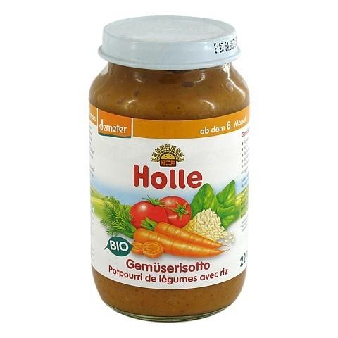 HOLLE Gemüserisotto 220 Gramm