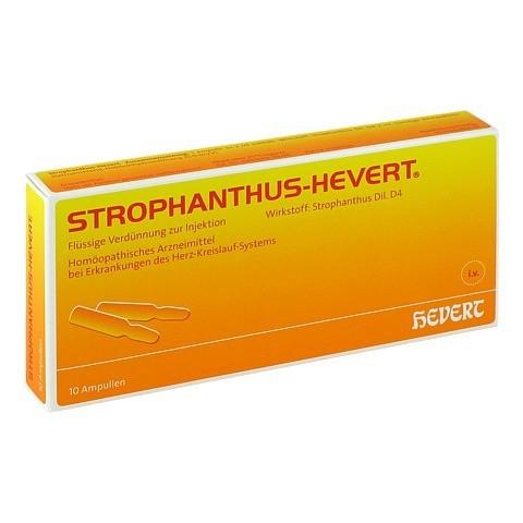 STROPHANTHUS HEVERT Ampullen 10 Stück N1