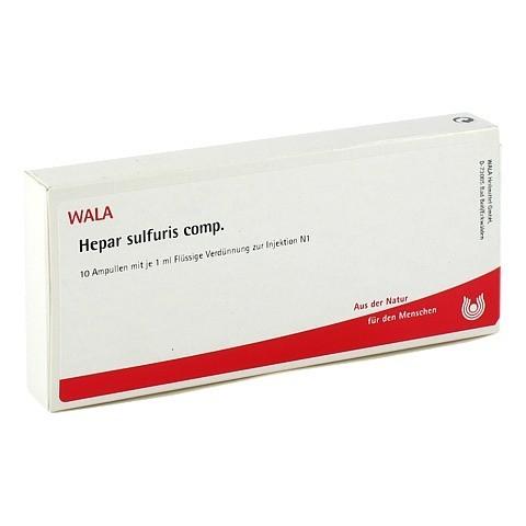 HEPAR SULFURIS COMP.Ampullen 10x1 Milliliter N1