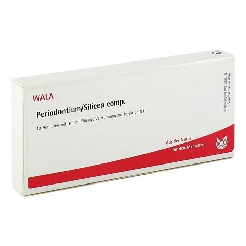 PERIODONTIUM/SILICEA comp.Ampullen 10x1 Milliliter N1