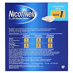 Nicotinell 52,5mg/24Stunden 7 Stück - Rückseite