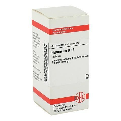 HYPERICUM D 12 Tabletten 80 Stück N1