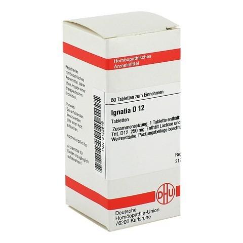 IGNATIA D 12 Tabletten 80 Stück N1