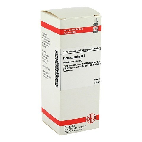 IPECACUANHA D 4 Dilution 50 Milliliter N1