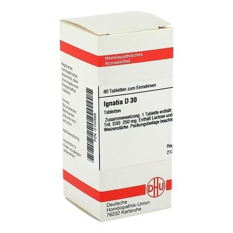 IGNATIA D 30 Tabletten 80 Stück