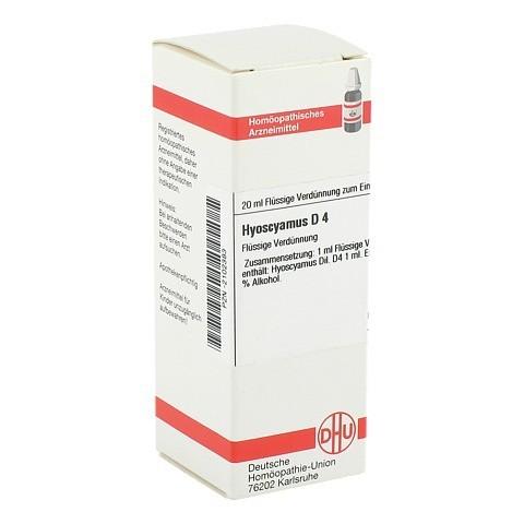 HYOSCYAMUS D 4 Dilution 20 Milliliter N1