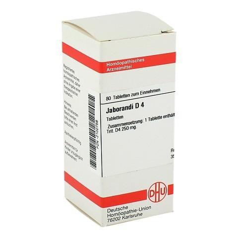 JABORANDI D 4 Tabletten 80 Stück N1