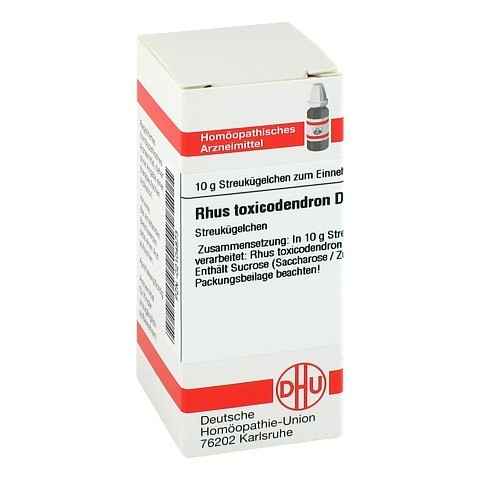 RHUS TOXICODENDRON D 30 Globuli 10 Gramm N1