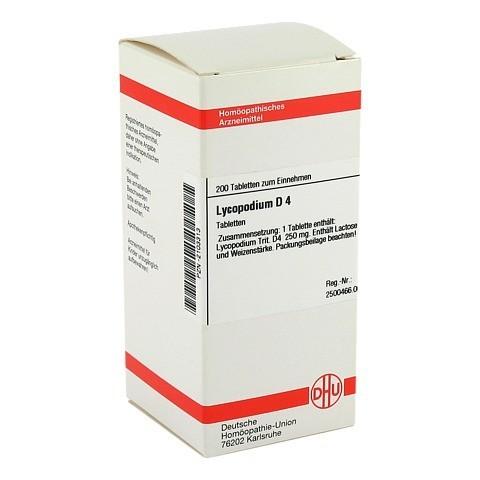 LYCOPODIUM D 4 Tabletten 200 Stück N2