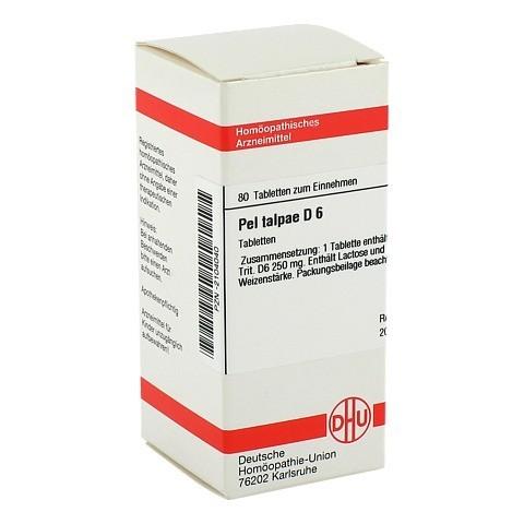 PEL TALPAE D 6 Tabletten 80 Stück N1