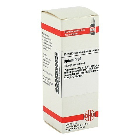 OPIUM D 30 Dilution 20 Milliliter N1