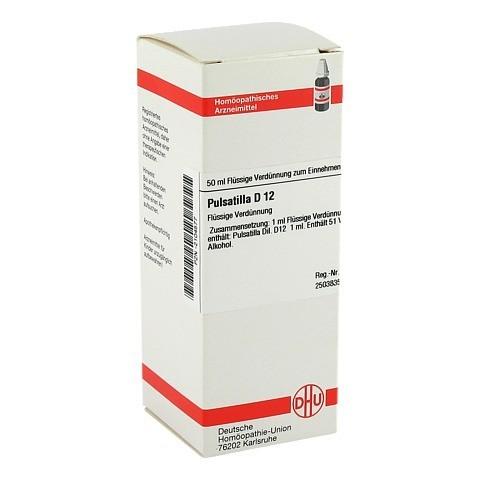 PULSATILLA D 12 Dilution 50 Milliliter N1