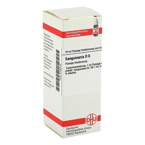 SANGUINARIA D 6 Dilution 20 Milliliter N1
