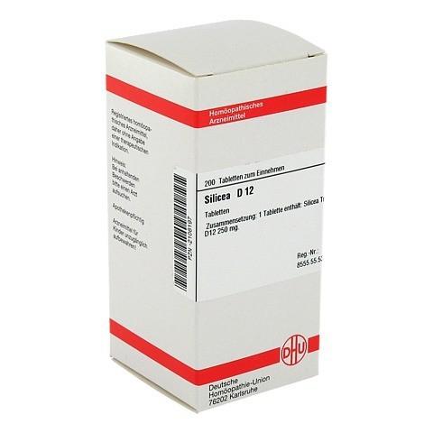 SILICEA D 12 Tabletten 200 Stück N2