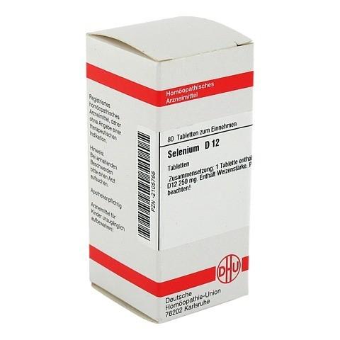 SELENIUM D 12 Tabletten 80 Stück N1