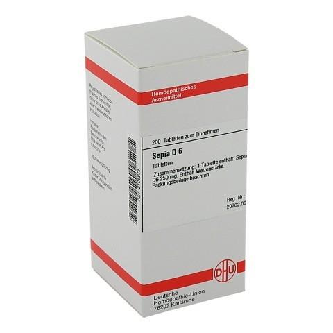 SEPIA D 6 Tabletten 200 Stück N2