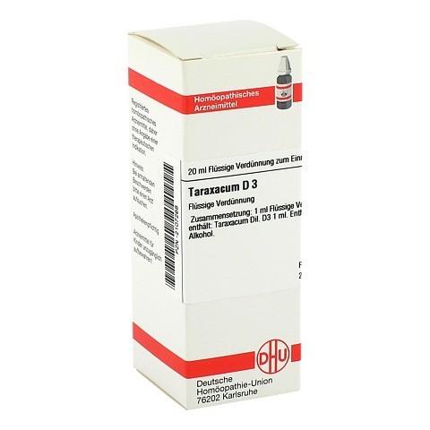 TARAXACUM D 3 Dilution 20 Milliliter N1